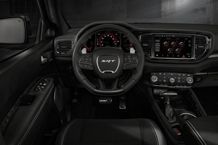 2021 Dodge Durango SRT Hellcat front panel steering wheel