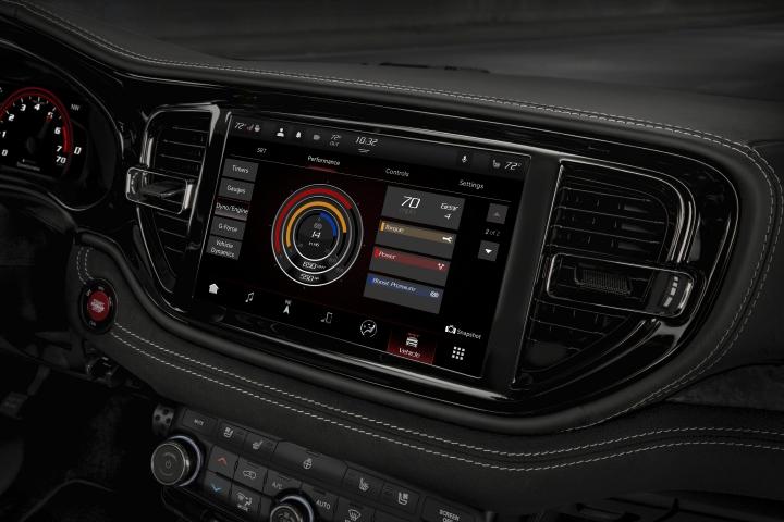 2021 Dodge Durango SRT Hellcat instrumental panel