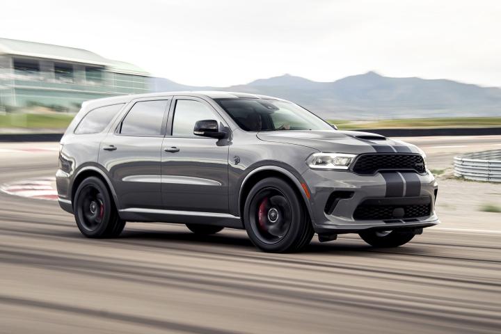 2021 Dodge Durango SRT Hellcat track speed