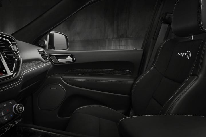 2021 Dodge Durango SRT Hellcat passenger seat