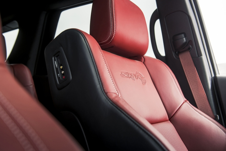 2021 Dodge Durango SRT Hellcat leather seats