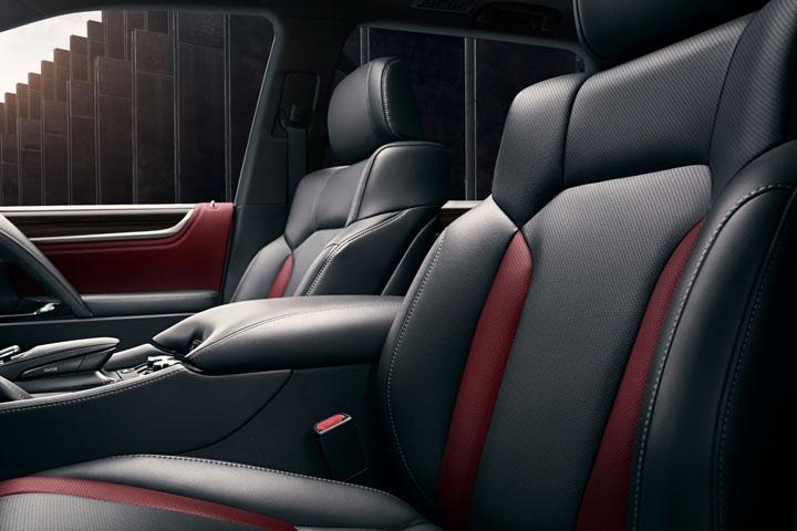 2021 Lexus LX 570 seats