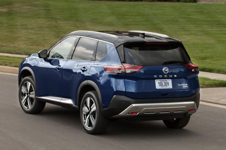 2021 Nissan Rogue Platinum AWD blue