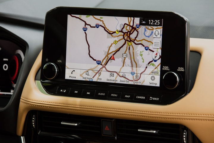 2021 Nissan Rogue navigation system