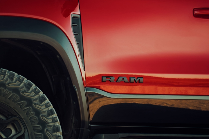 2021 RAM 1500 TRX left door