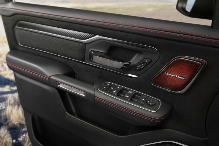 2021 RAM TRX driver door