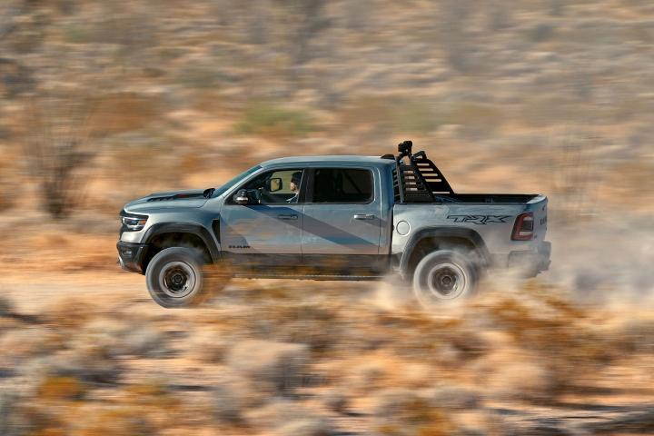 2021 RAM TRX desert drive