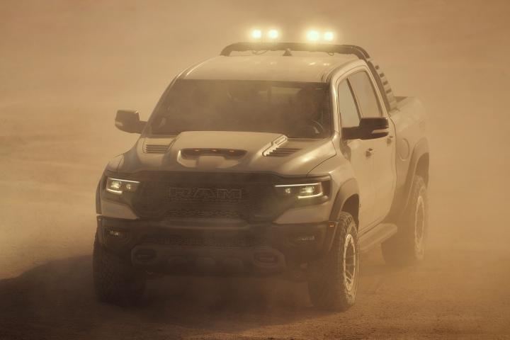 2021 RAM TRX rough road