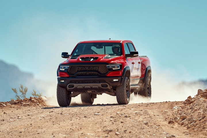 2021 RAM TRX elevation test