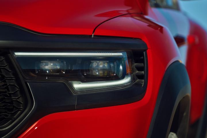 2021 RAM 1500 TRX headlights