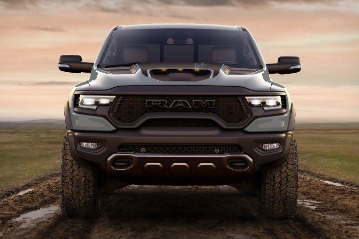 2021 RAM TRX front