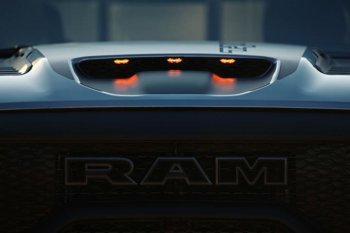 2021 RAM TRX grille