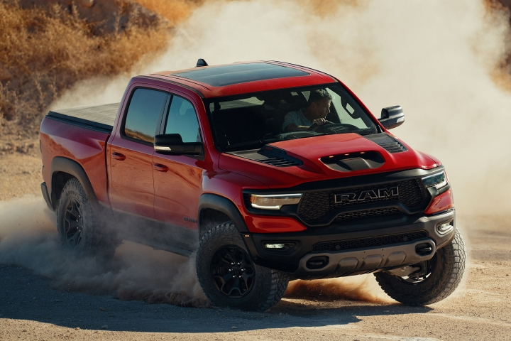2021 RAM TRX mountain drive test