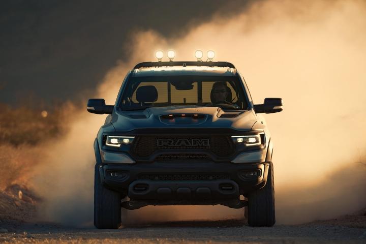 2021 RAM TRX night drive