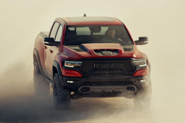 2021 RAM 1500 TRX test