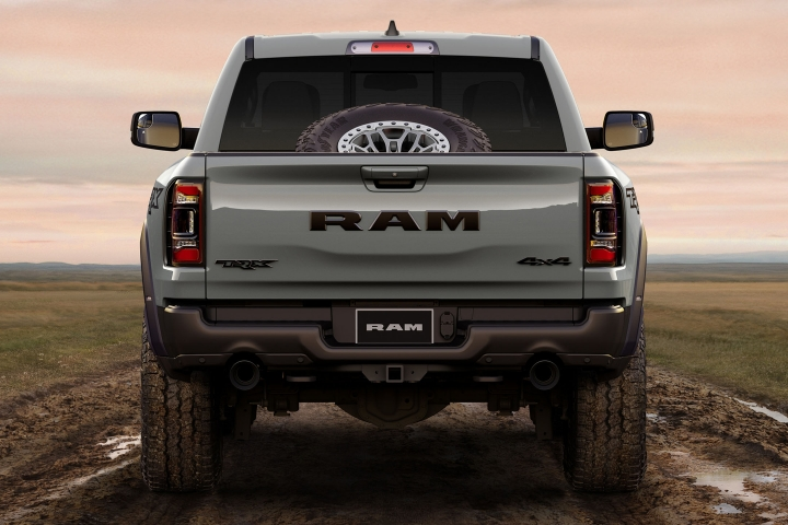 2021 RAM TRX off-road