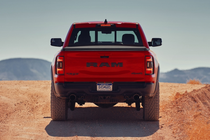 2021 RAM TRX rear