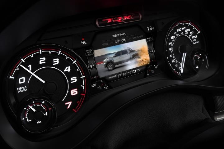 2021 RAM 1500 TRX speedometer