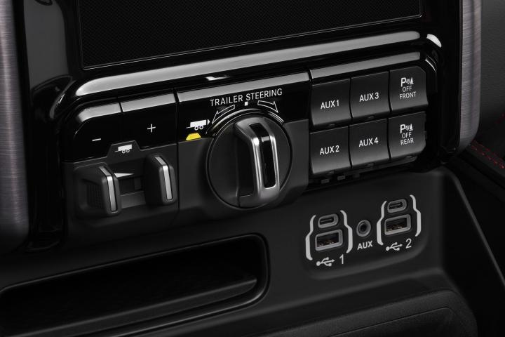 2021 RAM 1500 TRX trailer steering