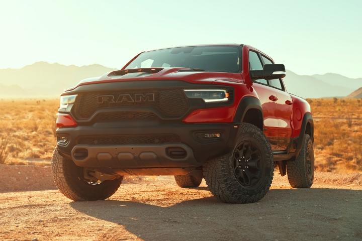 2021 RAM 1500 TRX red