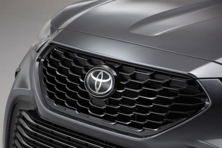 2021 Toyota Highlander XSE grill