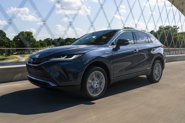 2021 Toyota Venza Limited drive