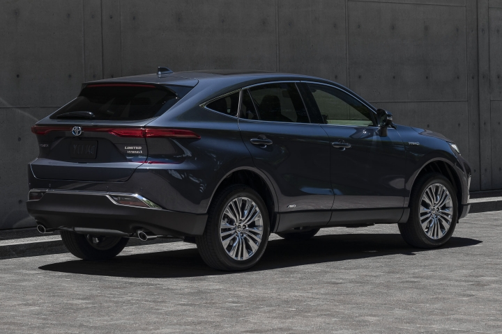 2021 Toyota Venza Limited rear passenger side
