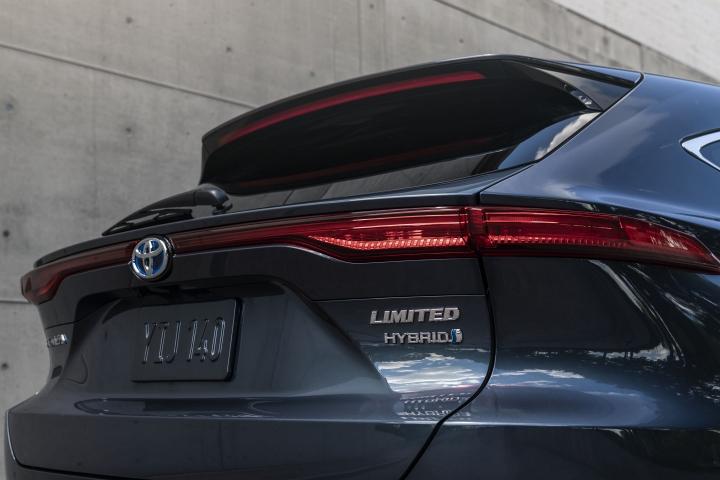 2021 Toyota Venza Limited door rear