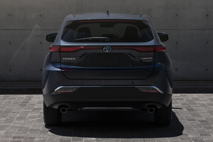 2021 Toyota Venza Limited rear view