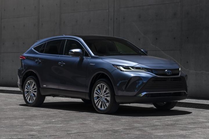 2021 Toyota Venza Limited front passenger side