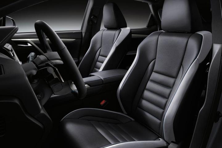 2021-Lexus-RX-F-Sport-Black-Line-leather-seats