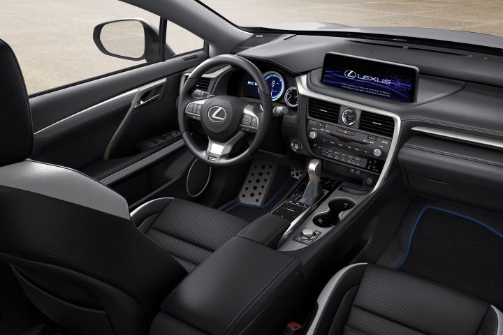 2021-Lexus-RX-F-Sport-Black-Line-interior