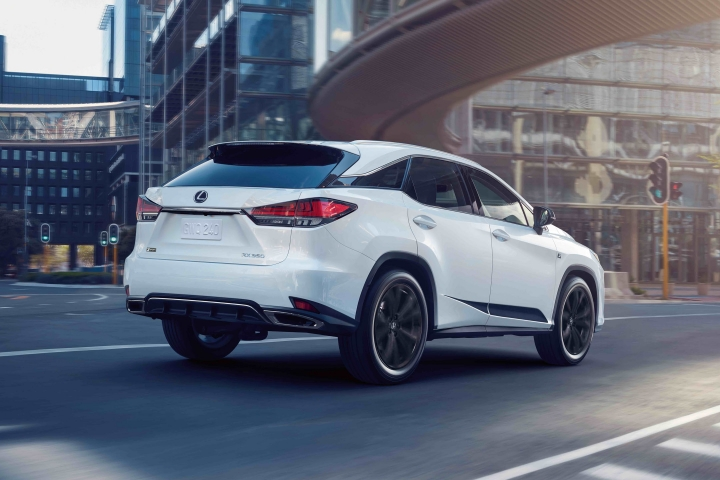 2021-Lexus-RX-F-Sport-Black-Line-rear