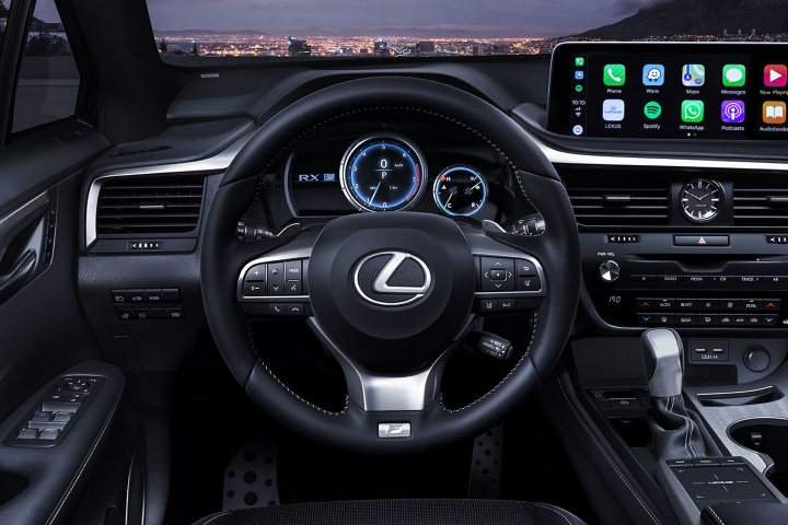 2021_Lexus_RX350_Steering_Wheel