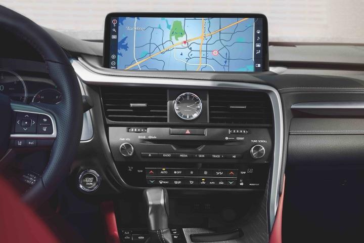 2021_Lexus_RX350_Navigation