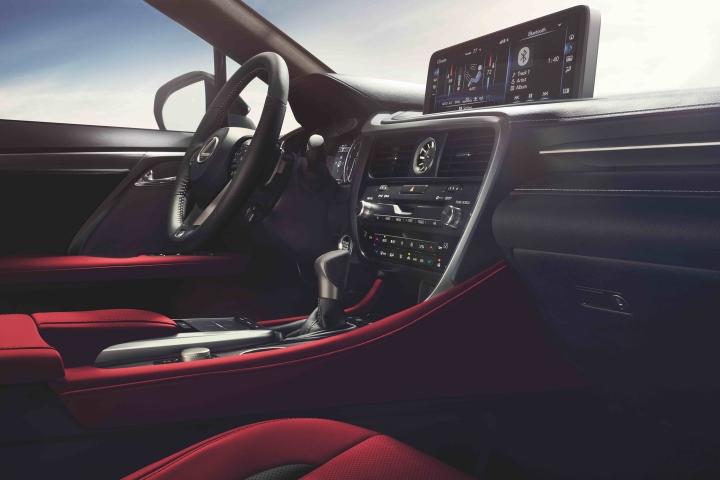 2021_Lexus_RX350_Interior