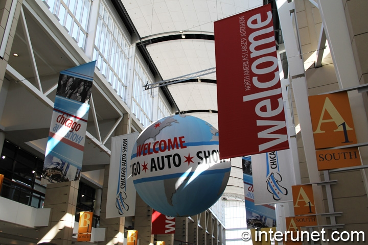 Chicago Auto Show in McCormick Place