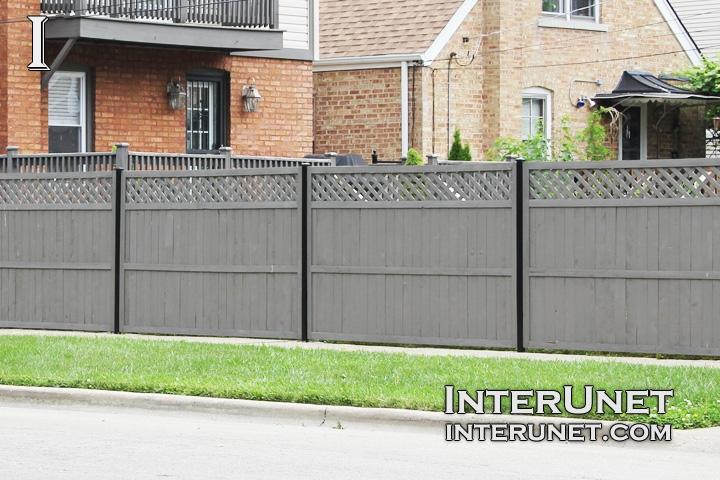 Wood Fence Design Ideas Grey Privacy Fence