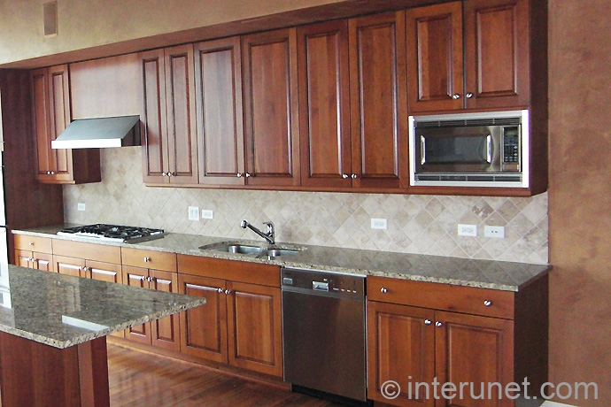 Estimating kitchen remodeling cost interunet for Semi custom cabinets