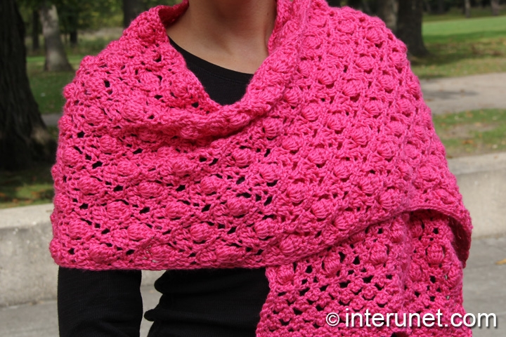 Crochet Shawl Pattern : crochet shawl