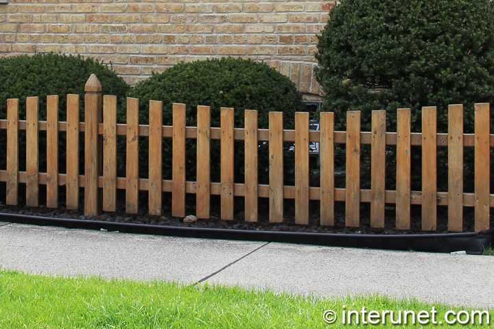 Wood fence for Simple fence plans