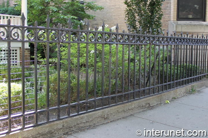 steel-fence-on-concrete-foundation