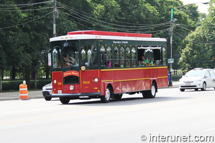 Trolley tours in Chicago