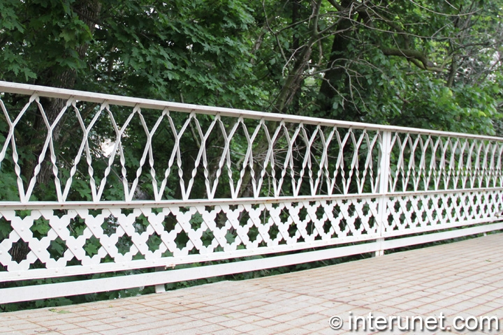 white-metal-fence