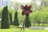 sculpture-of-a-flower-in-Chicago