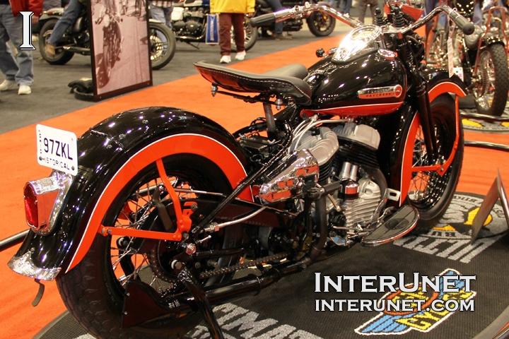 1947 Harley-Davidson WL retro MOD
