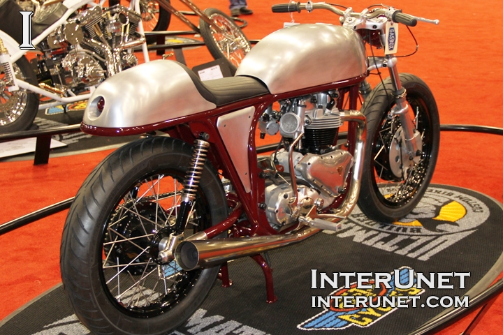 1959 Triumph Triton custom bike