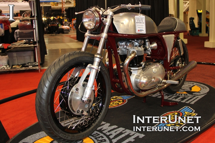 1959 Triumph Triton modified motorcycle