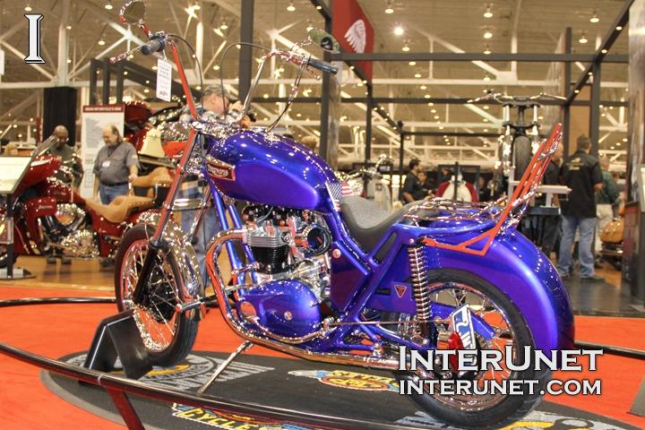 1971 Triumph Bonneville custom bike