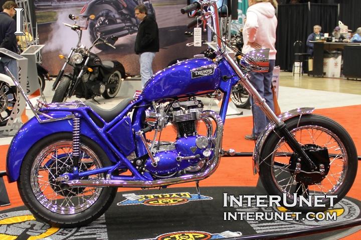1971 Triumph Bonneville custom built motorcycle